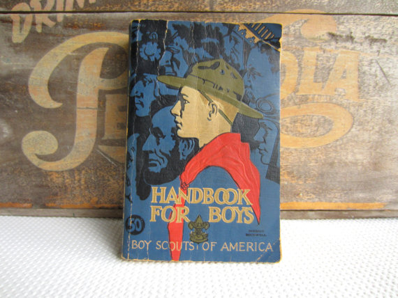 Handbook For Boys Boy Scouts America Norman Rockwell Cover Art