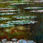 Handmade Famous Canvas Monet Painting Reproduction