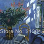 Handpainted Famous Oil Painting Reproduction Canvas Interior