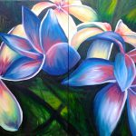 Hawaiian Flower Painting