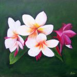 Hawaiian Flower Paintings Pic