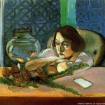Henri Matisse Paintings Woman Before Aquarium