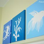 Here Simple Tutorial For Making Personalized Silhouette Canvas
