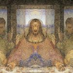 Hidden Image Last Supper Painting