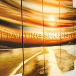 High Huge Multiple Panels Art Paintings Canvas Contemporary