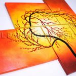 High Quality Huge Multiple Panels Oil Painting Canvas Contemporary