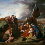 History Painting The Death General Wolfe