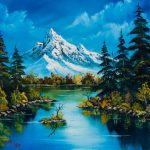 Home Paintings Bob Ross Reflections Fall