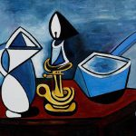 Home Paintings Pablo Picasso Enamel
