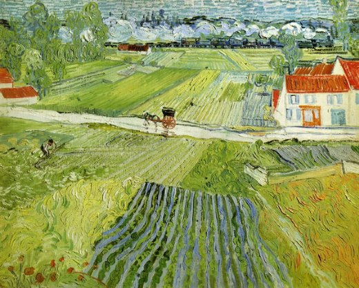 Home Paintings Vincent Van Gogh