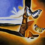 Home Shop Artists Dali Landscape Butterflies