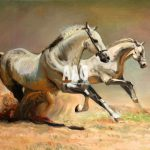 Horse Watercolor Painting Horses Jpeg Courtesy
