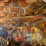 Houses Many Diego Rivera Murals Here One Stairwell Mural