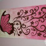 Huge Canvas Painting And Easier Change Out Than Wall Mural