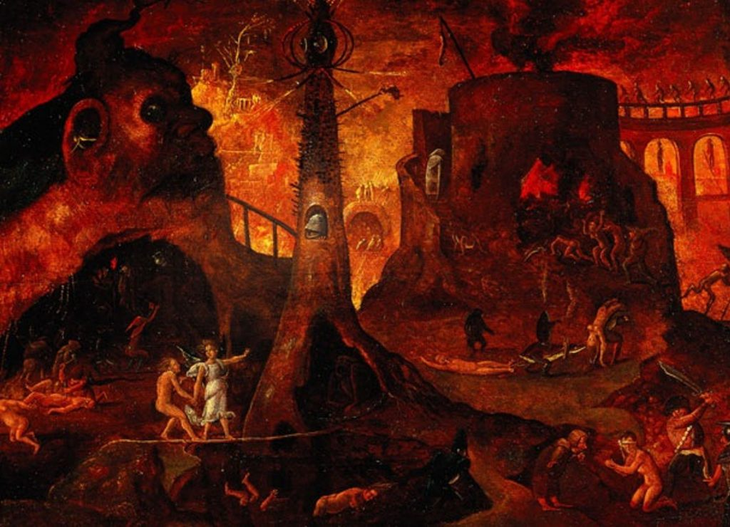 Image Hell Italian Probably Follower Bosch And Not The