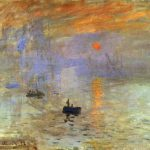 Impression Sunrise Oil Canvas Mus Marmottan Paris