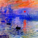 Impressionist Painting Hand Painted