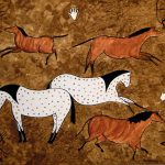 Indian Cave Art Painting Canvas Prints And