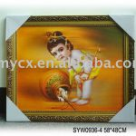 Indian God Oil Painting Canvas Buddha