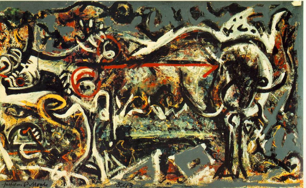 Jackson Pollock Paintings Art Gallery