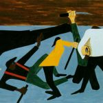 Jacob Lawrence One The First Race Riots Occurred East Louis