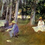 John Singer Sargent Captured Monet Work The Lovely Camille