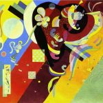 Kandinsky Paintings Wassily Composition Painting