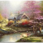 Kinkade Image Original Art Pictures Thomas