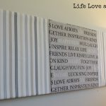 Make Your Own Easy Canvas Wall Art
