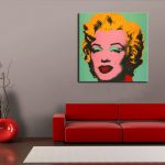 Marilyn Monroe Oil Painting Canvas