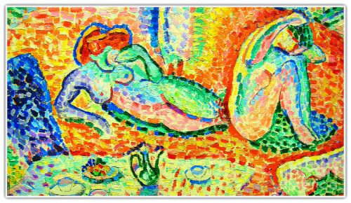 Matisse Luxe Calm And Volupte Painting