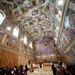 Michelangelo Sistine Chapel Turns