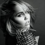 Miley Cyrus Black And White