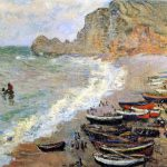 Monet Boat Paintings