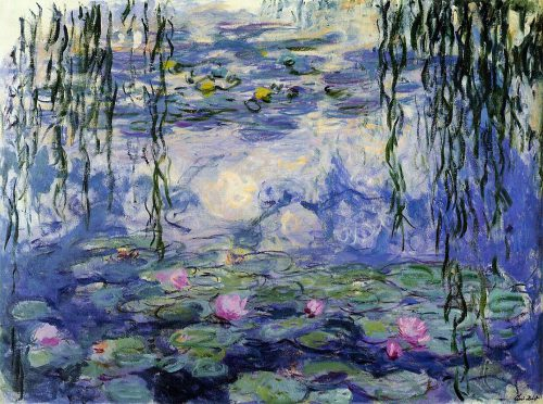Monet Water Lilies The Healing Nation Update