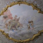 National Monument Beautiful Ceiling Painting Famous Carlos Reis