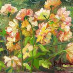 Oil Painting Landscapes Impressionism Flowers