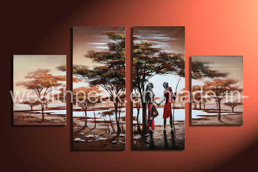 Oil Painting Modern Multi Canvas