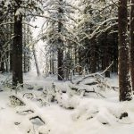 Oil Paintings Art Collections Famous Russian Winter
