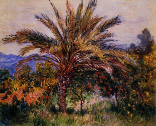 Order Monet Oil Painting Reproduction Palm Tree Bordighera