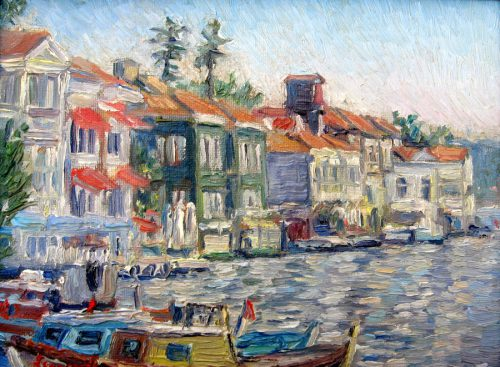 Original Impressionist Oil Painting Levent Deparis Leventdeparis