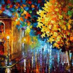Original Oil Canvas Painting Leonidafremov