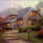Original Thomas Kinkade Paintings Ebay