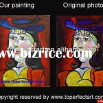 Pablo Picasso Painting Reproduction China Calligraphy For