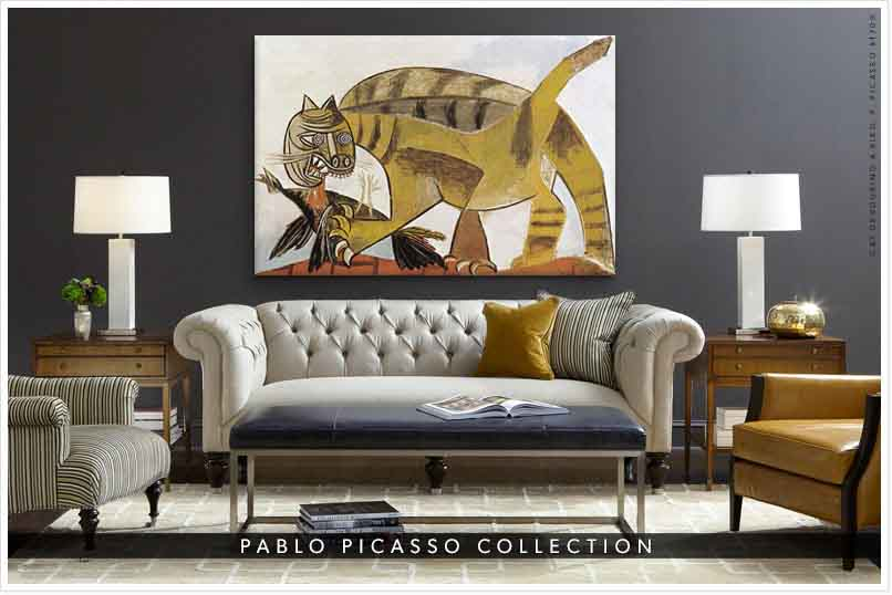 Pablo Picasso Paintings Canvas Art Prints