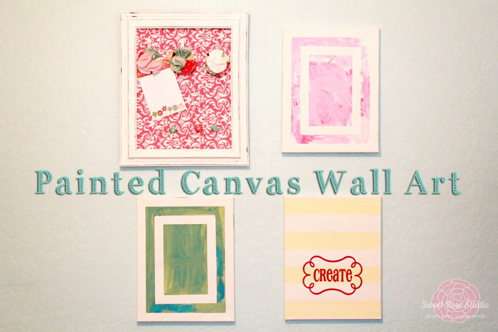 Painted Canvas Wall Art