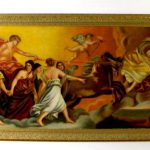 Painting Canvas Angels Chariot