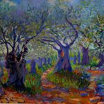 Painting For Sale Olive Trees Art Impressionism