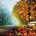 Painting Modern Impressionism Palette Knife Oil