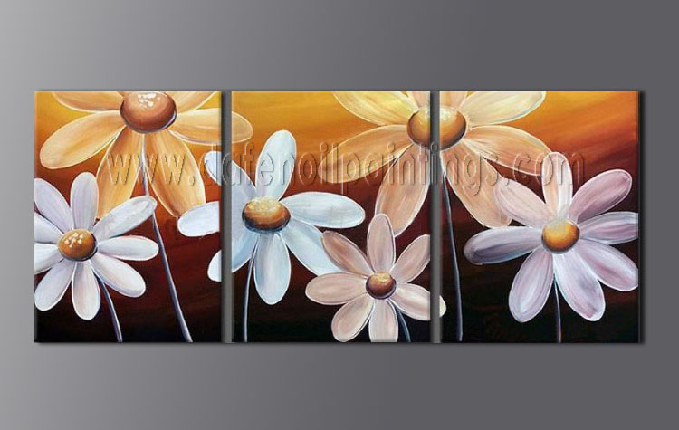 Painting Panels Modern Oil Paintings Canvas Flower